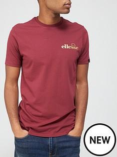 ellesse-voolu-t-shirt-burgundynbsp