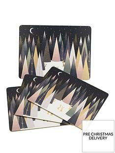 sara-miller-sara-miller-frosted-pines-set-of-4-placemats
