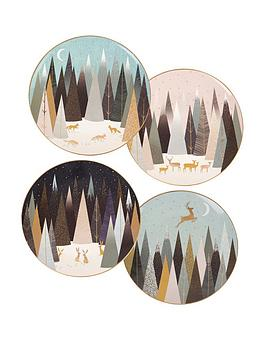 sara-miller-frosted-pines-plates