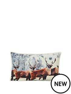 riva-home-glitter-stag-cushion