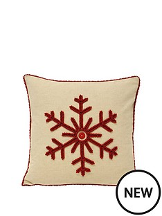 riva-home-nicholas-snowflake-cushion