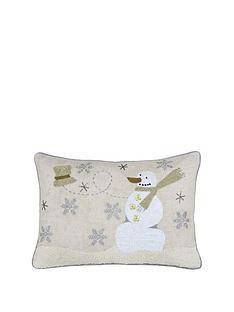 riva-home-advent-snowman-christmas-cushion