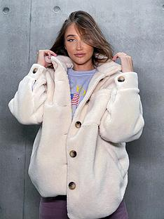 in-the-style-in-the-style-x-megan-mckenna-creamnbspoversized-trucker-coat--nbsp