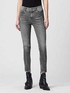 allsaints-miller-distressednbspskinny-jeans-grey