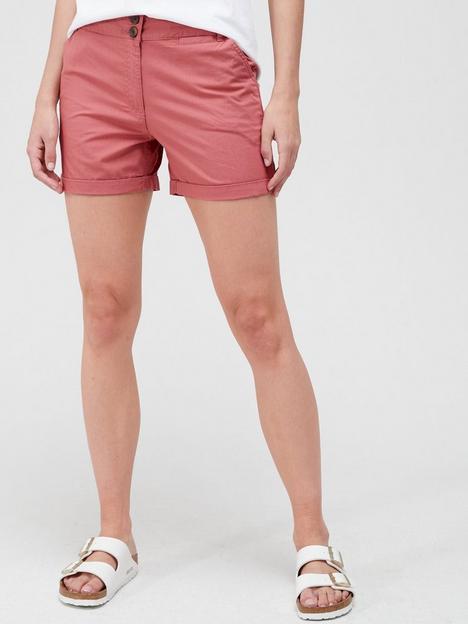 v-by-very-poplin-shorts-dusty-rose