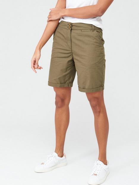 v-by-very-longer-length-poplin-shorts-khakinbsp