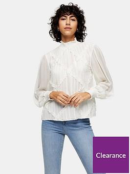 topshop-cross-hatch-lace-trim-blouse-white
