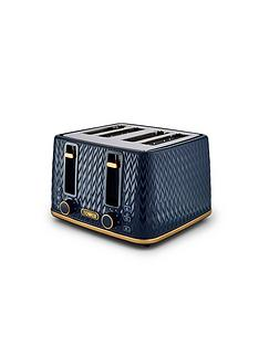 tower-empire-4-slice-textured-toaster-midnight-blue