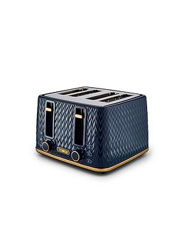 tower-empire-4-slice-textured-toaster-midnight-blue