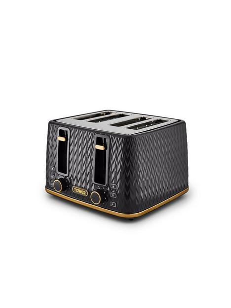 tower-empirenbsp4-slice-textured-toaster-black