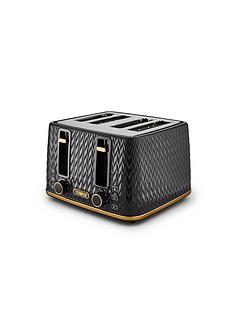 tower-empirenbsp4-slice-textured-toaster-black