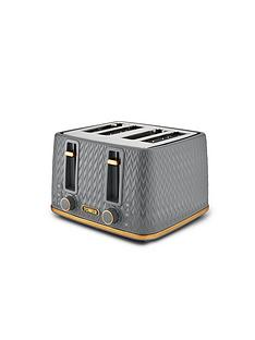 tower-tower-empire-4-slice-textured-toaster-grey
