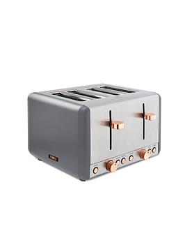 tower-tower-cavaletto-4-slice-toaster-grey-rose-gold