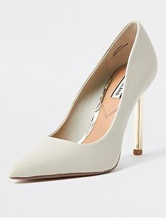 river-island-metal-heel-court-shoe-nude
