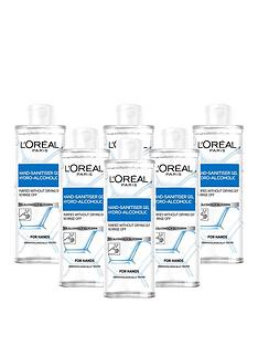 loreal-paris-loreal-anti-bacterial-hand-sanitiser-with-cap-70-alcohol-large-390ml-pack-of-6
