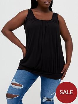 v-by-very-curve-jersey-banded-hem-vest-black