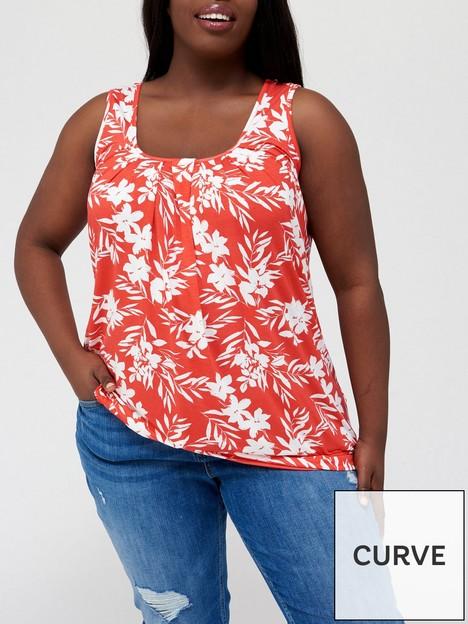 v-by-very-curve-jersey-banded-hem-vest-red-print