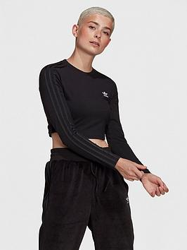 adidas-originals-relaxed-risque-cropped-long-sleeve-tee-black