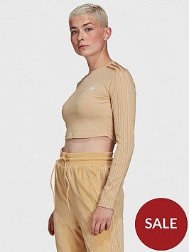 adidas-originals-relaxed-risque-cropped-long-sleeve-tee-beige