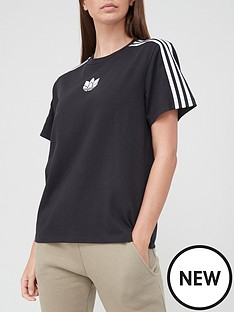adidas-originals-3d-trefoil-loose-tee-black