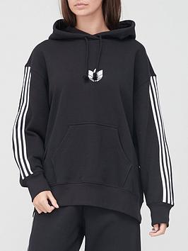 adidas-originals-3d-trefoil-oversized-hoodie-black