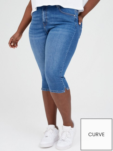 v-by-very-curve-longline-denim-shorts-light-washnbsp