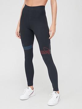 adidas-originals-tricolor-leggings-black