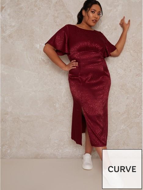 chi-chi-london-curve-fridia-dress-burgundynbsp