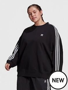 adidas-originals-oversized-sweatshirt-plus-size-black