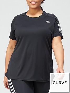 adidas-plusnbspown-the-run-t-shirt-black