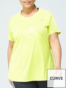 adidas-plusnbspown-the-run-t-shirt-yellow