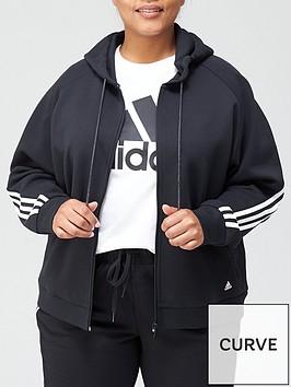 adidas-plus-3-stripes-full-zip-hoodie-black