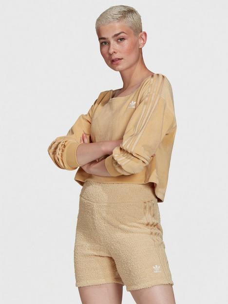 adidas-originals-relaxed-risque-velour-off-shoulder-sweater-beige