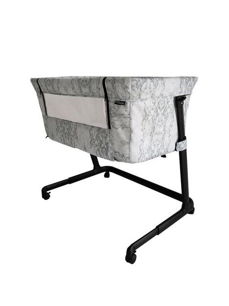 my-babiie-closer-marble-bedside-crib
