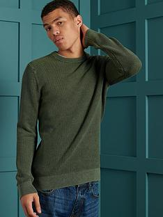 superdry-superdry-academy-dyed-texture-crew-sweatshirt