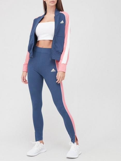adidas-bomber-jacketnbspamp-tight-tracksuit-navy