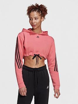 adidas-badge-of-sport-crop-hoodie-blackrose