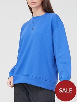 adidas-originals-trefoil-essentials-sweatshirt-blue