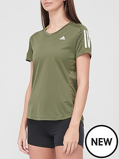 adidas-own-the-run-t-shirt-khakinbsp