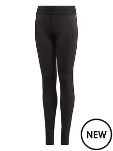 adidas-girls-trainingnbspalphaskinnbsptights-black