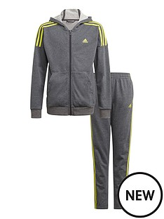 adidas-junior-boys-cotton-tracksuit-dark-grey-heather