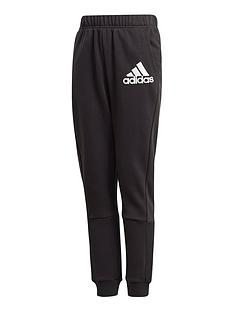 adidas-boys-badge-of-sport-pants-black
