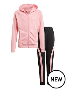 adidas-girls-hooded-cottonnbsptracksuit-light-pink