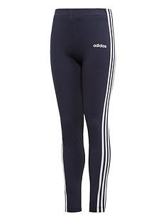 adidas-youth-girls-essentials-3-stripe-tights-greywhite