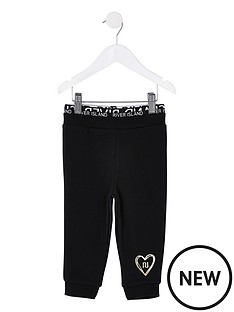 river-island-mini-girls-waistband-cuffed-jog-pants--nbspblack