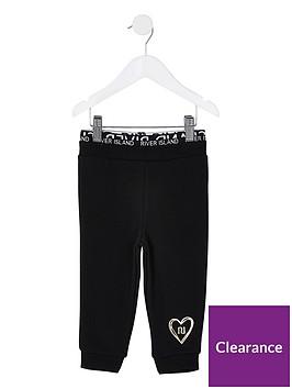 river-island-mini-girls-waistband-cuffed-jog-pants--nbspblack