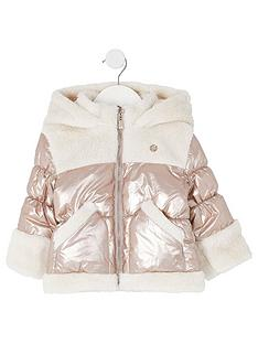 river-island-mini-girls-teddy-hooded-coat-bronzenbsp