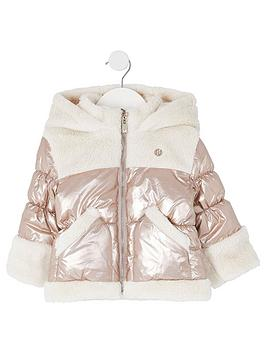 river-island-mini-girls-teddy-hooded-coat-bronzenbsp