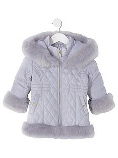 river-island-mini-girls-quilted-faux-fur-coat-grey