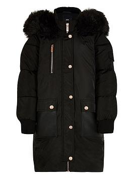 river-island-girls-padded-hooded-parka--nbspblacknbsp
